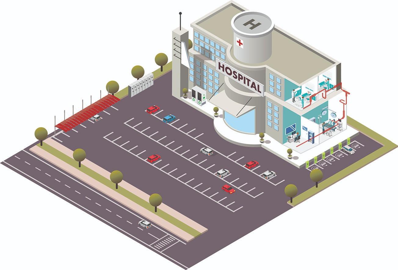 Interactive Hospital Map